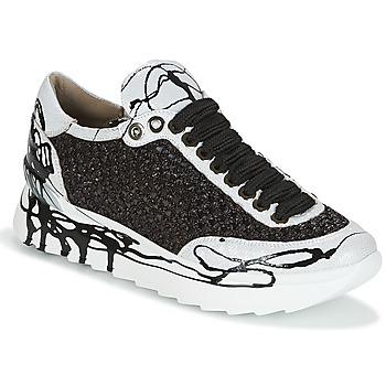 Cipők Női Rövid szárú edzőcipők Now CARK Fekete  / Fehér