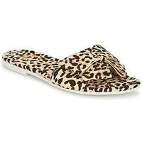 Cipők Női Papucsok Lola Ramona COCCO Leopárd