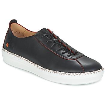 Cipők Női Rövid szárú edzőcipők Art TIBIDABO 1342 Fekete