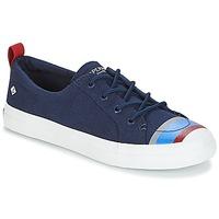 Cipők Női Rövid szárú edzőcipők Sperry Top-Sider CREST VIBE BUOY STRIPE Tengerész