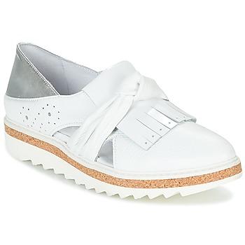 Cipők Női Mokkaszínek Regard RASTAFA Fehér / Ezüst