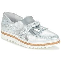 Cipők Női Mokkaszínek Regard RASTAFA Ezüst