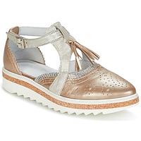 Cipők Női Oxford cipők Regard RASTANU Bronz