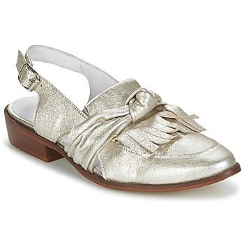 Cipők Női Mokkaszínek Regard RELABI Arany