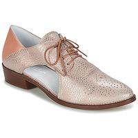 Cipők Női Oxford cipők Regard RELAFU Rózsaszín
