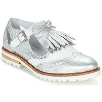 Cipők Női Oxford cipők Regard RETAZO Fehér / Ezüst