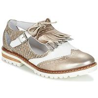 Cipők Női Oxford cipők Regard RETAZO Bronz