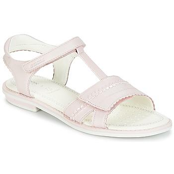 Cipők Lány Szandálok / Saruk Geox J S.GIGLIO A Rózsaszín