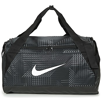 Táskák Sporttáskák Nike BRASILIA SMALL Fekete / Fehér