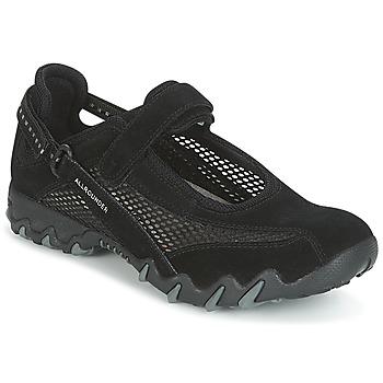Cipők Női Rövid szárú edzőcipők Allrounder by Mephisto NIRO Fekete