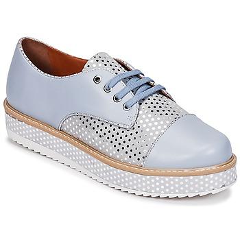 Cipők Női Oxford cipők Cristofoli FILIPY Kék