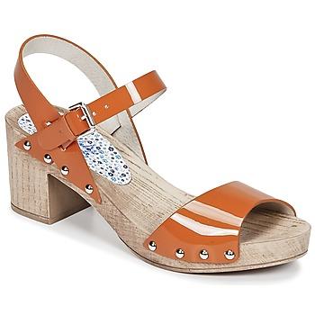 Cipők Női Szandálok / Saruk Ippon Vintage SOK COLORS Narancssárga