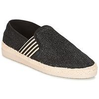 Cipők Női Gyékény talpú cipők Ippon Vintage SMILE-DRESSNAVY Fekete