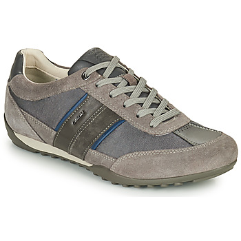 Cipők Férfi Rövid szárú edzőcipők Geox U WELLS C Szürke