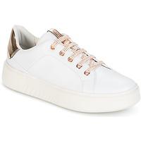 Cipők Női Rövid szárú edzőcipők Geox D NHENBUS A Fehér