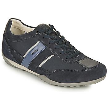 Cipők Férfi Rövid szárú edzőcipők Geox U WELLS C Kék