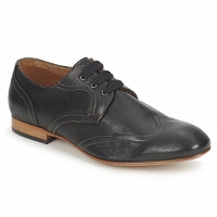 Cipők Női Oxford cipők Hudson LITA Fekete