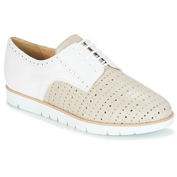 Cipők Női Oxford cipők Geox KOOKEAN Tópszínű / Fehér