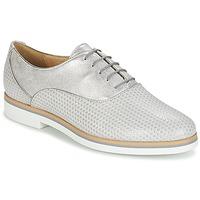 Cipők Női Oxford cipők Geox JANALEE A Szürke / Fehér