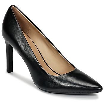 Cipők Női Félcipők Geox FAVIOLA C Fekete