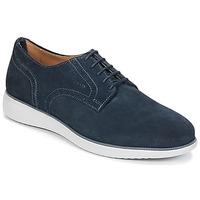 Cipők Férfi Oxford cipők Geox WINFRED A Tengerész