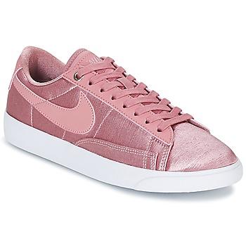 Cipők Női Rövid szárú edzőcipők Nike BLAZER LOW SE W Rózsaszín