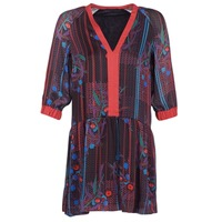Ruhák Női Rövid ruhák Sisley CEPAME Fekete  / Piros / Kék