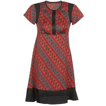 Ruhák Női Rövid ruhák Sisley ZEBRIOLO Piros / Fekete
