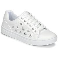 Cipők Női Rövid szárú edzőcipők Guess JAMIT Fehér