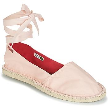 Cipők Női Gyékény talpú cipők Havaianas ORIGINE SLIM Rózsaszín