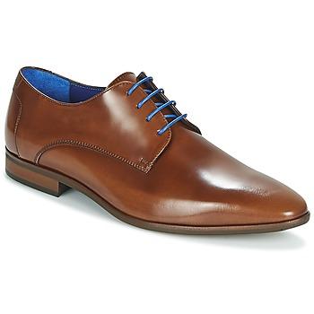 Cipők Férfi Oxford cipők Azzaro VALMI Konyak