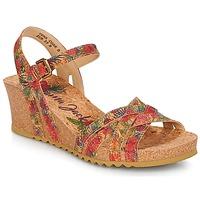 Cipők Női Szandálok / Saruk Panama Jack VERA Piros