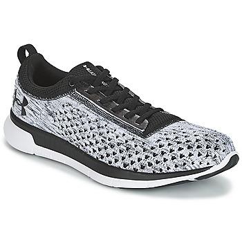Cipők Férfi Rövid szárú edzőcipők Under Armour CHARGED LIGHTNING 3 Fekete  / Fehér
