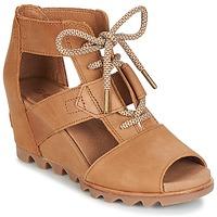 Cipők Női Szandálok / Saruk Sorel JOANIE™ LACE Barna