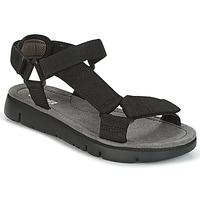 Cipők Női Szandálok / Saruk Camper ORUGA SANDAL Fekete
