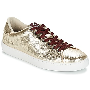 Cipők Női Rövid szárú edzőcipők Victoria DEPORTIVO METALIZADO Arany