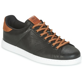 Cipők Férfi Rövid szárú edzőcipők Victoria DEPORTIVO PU CONTRASTE Fekete