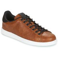 Cipők Férfi Rövid szárú edzőcipők Victoria DEPORTIVO PU CONTRASTE Barna