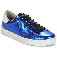 Cipők Női Rövid szárú edzőcipők Victoria DEPORTIVO METALIZADO Kék