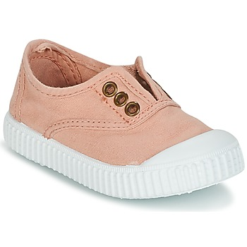 Cipők Lány Rövid szárú edzőcipők Victoria INGLESA LONA TINTADA Rózsaszín