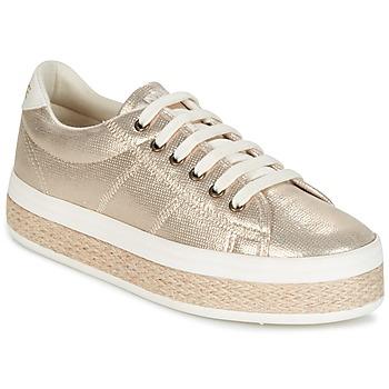 Cipők Női Rövid szárú edzőcipők No Name MALIBU GLOW Arany