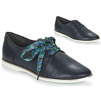 Cipők Női Oxford cipők Tamaris LACAPI Tengerész