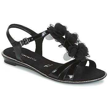 Cipők Női Szandálok / Saruk Tamaris GACAPI Fekete