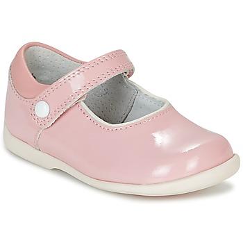 Cipők Lány Balerina cipők / babák Start Rite NANCY Rózsaszín