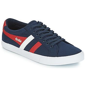 Cipők Férfi Rövid szárú edzőcipők Gola VARSITY Tengerész / Fehér / Piros