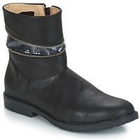 Cipők Lány Városi csizmák GBB MAFALDA Vts / Fekete