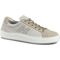 Cipők Férfi Rövid szárú edzőcipők Hogan HXM3020X480HG0241L beige