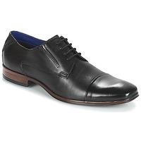 Cipők Férfi Oxford cipők Bugatti  Fekete