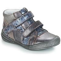 Cipők Lány Csizmák GBB ROXANE Szürke / Kék