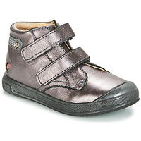Cipők Lány Magas szárú edzőcipők GBB RACHEL Lila / Fémes